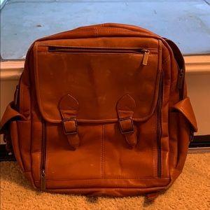 Handbags - Vintage Leather Backpack